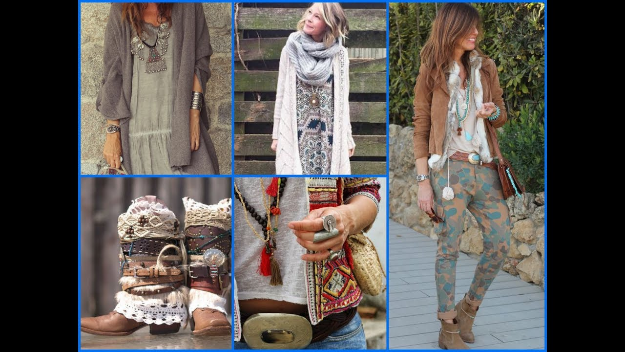 Fall Boho Outfits Inspirations –  Bohemian Fall Fashion Trends