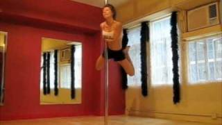 Pole Dance Competition routine - Manila
