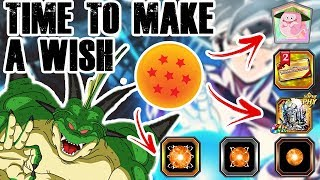 WHAT TO WISH FOR!? THE 7 STAR PORUNGA DRAGON BALL IS NOW LIVE! | DBZ DOKKAN BATTLE