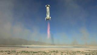 Blue Origin испытала капсулу для суборбитальных полётов (новости)