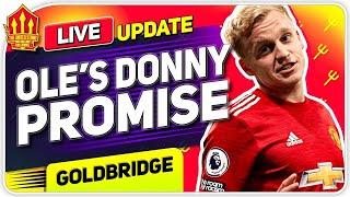 Solskjaer's Van De Beek Promise! Upamecano Transfer Battle! Man Utd Transfer News