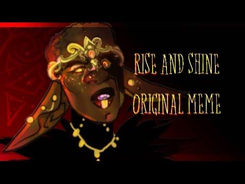 .:RISE AND SHINE:. ANIMATION MEME (ORIGINAL) - YouTube