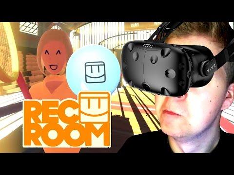 REC ROOM - DAS BESTE VR SPORTSPIEL! :D