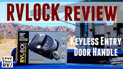 RVLOCK Keyless Entry Door Handle Install and Review