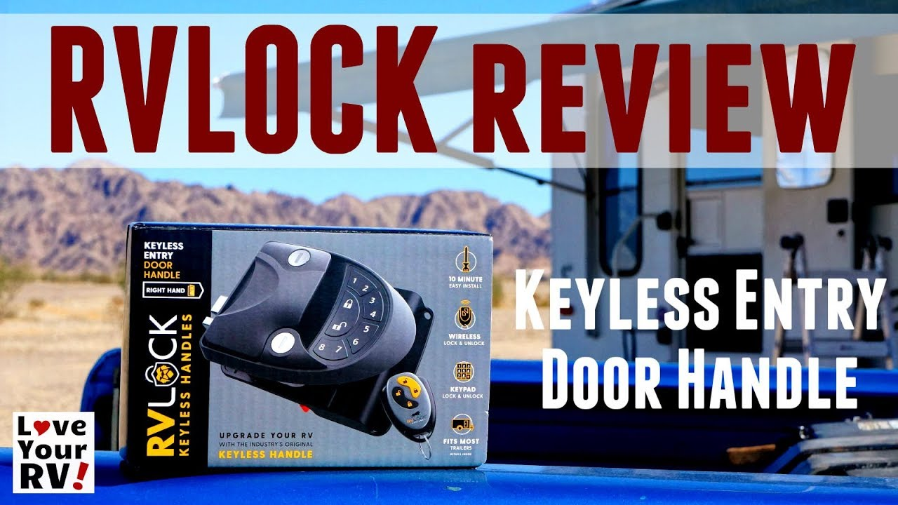 Rvlock Keyless Entry Door Handle Install And Review Youtube
