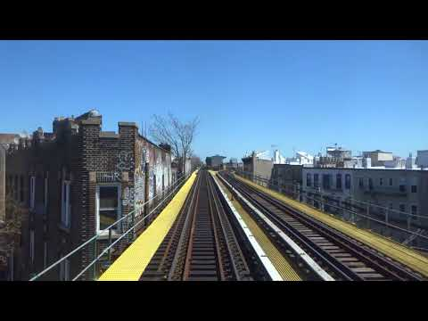 NYC Subway: Anti-Railfan Window R42 (M) From Metropolitan Avenue To Myrtle-Wyckoff Avenues(Track 2)