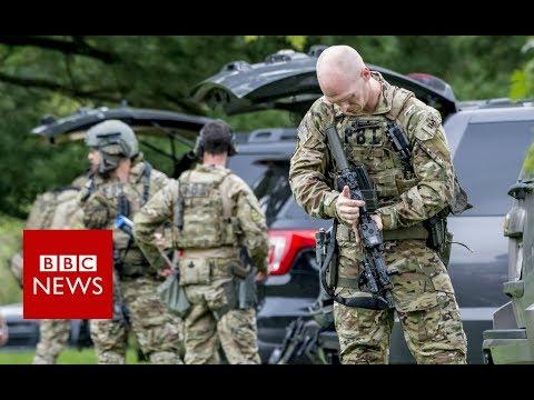 Maryland Shooting leaves 3 dead - BBC News