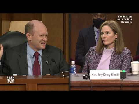 WATCH: Sen. Chris Coons questions Supreme Court nominee Amy Coney Barrett