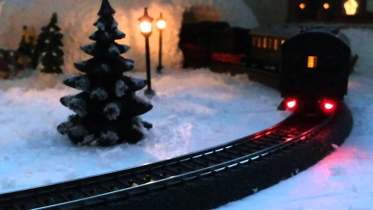 Weihnachtsdeko Weihnachtsdorf.Weihnachtsdeko Christmas Train Weihnachtsdorf H0