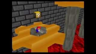 Cogs and Conveyor Belts - SM64 Green Stars