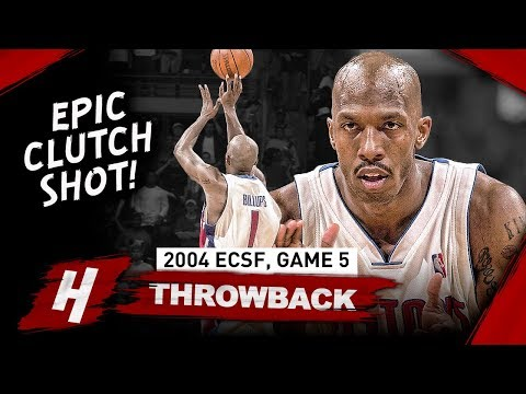 Chauncey Billups CRAZY Game 5 Full Highlights vs Nets 2004 Playoffs - 31 Pts, 10 Reb, CLUTCH!
