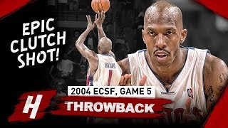 Chauncey Billups CRAZY Game 5 Full Highlights vs Nets 2004 Playoffs - 31 Pts, 10 Reb, CLUTCH!