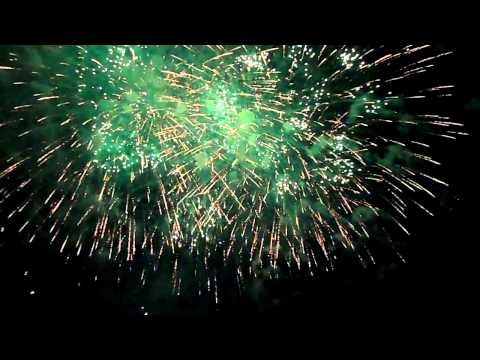 2014 Cincinnati  WEBN Cincinnati Bell Fireworks Part 1