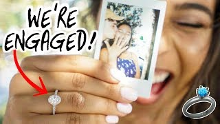 WE'RE ENGAGED! 💍✨ Natalie & Dennis Show!