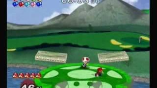 Super Smash Bros. Melee: Adventure Mode with Mario (Normal)