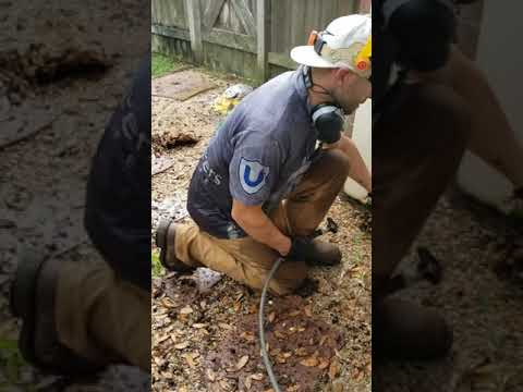 How To Clear French Drains, Gutter Drains, And Pipes, With Water Jetting Equipment