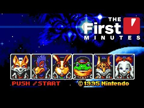The First 7 Minutes of Star Fox 2 (SNES Classic)