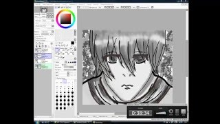 как нарисовать аниме парня/how to draw a anime boy(Рисую аниме-парня на графическом планшете Поддержите проект!!!Подпишись на канал!!!!, 2016-03-25T15:50:51.000Z)