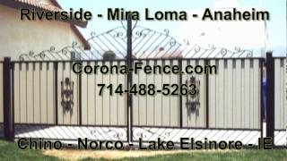 Corona Fence & Gates, Handy Man Services, Welding, Wrought Iron