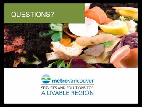 The 2015 Organics Disposal Ban in Metro Vancouver