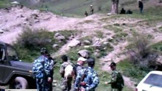 В Рамитском ущелье ловят опального экс-генерала