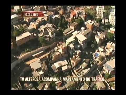 TV Alterosa acompanha mapeamento do tráfico