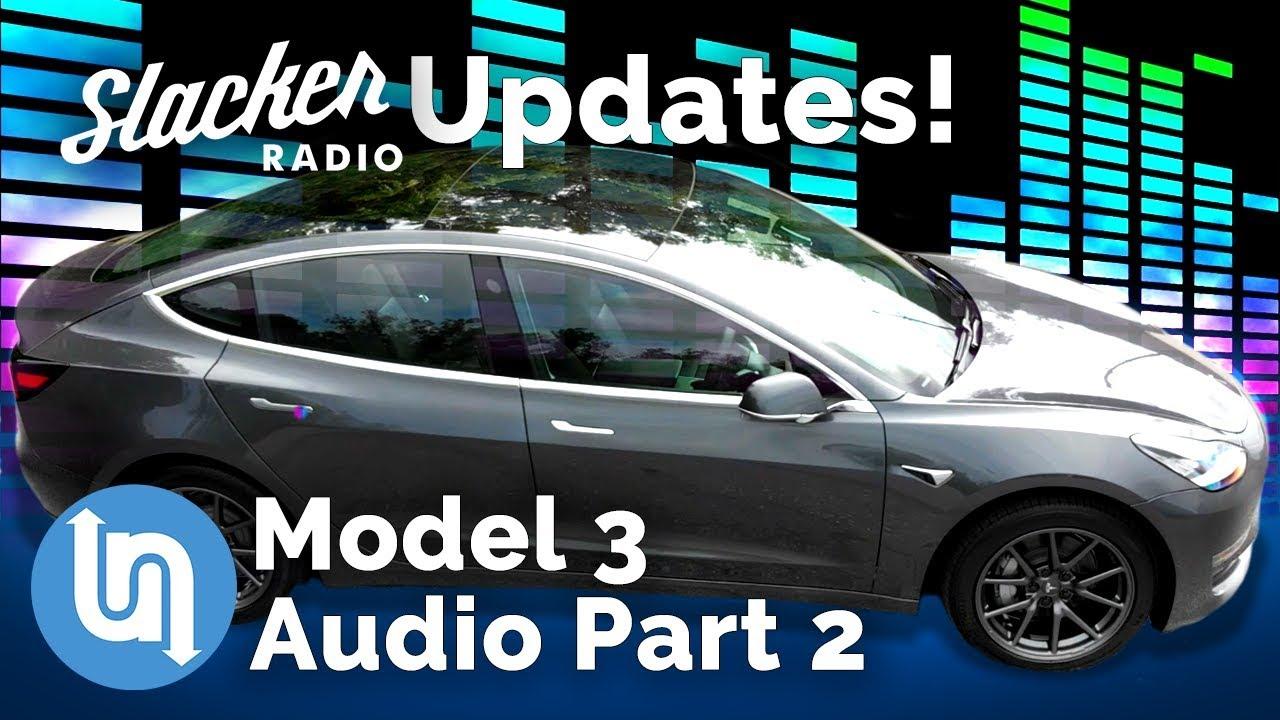 Tesla Model 3 Audio System Review Part 2