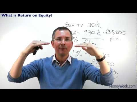 What is return on equity? - MoneyWeek Investment Tutorials