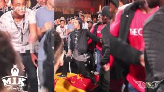 Kingstyle b.c.k M.I.K Family VS Les TWINS BATTLE BEEF ;) THE CYPHER 2015 CALL OUT