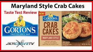 Frozen Friday: Gortons Maryland Crabcake Taste Test Review | JKMCraveTV