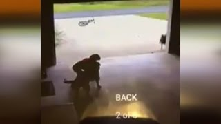 Boy Caught On Video Sneaking Into Garage to Hug Dog: He