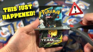 *THIS WILL MAKE YOU CRY!* Did I just RIP THE RAREST Pokemon Card from NEW TEAM UP SET?!