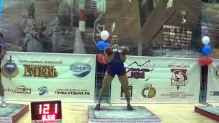 Absolut World record in jerk 2x32 kg kettlebells 176 reps in Open military cup 2013 Ivan Denisov
