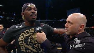 UFC 235: Entrevista no Octógono com Jon Jones e Anthony Smith