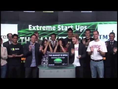 Extreme Startups opens Toronto Stock Exchange, June 13, 2013
