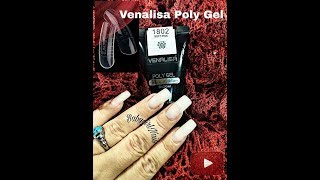 HOW TO: Venalisa Poly Gel Complete Review & Tutorial Using Dual Forms!! MUST SEE