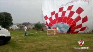Lot balonem dla dwojga – Nowy Targ video