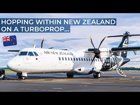 TRIPREPORT | Air New Zealand (ECONOMY) | ATR 72-600 | Queenstown - Christchurch - Wellington