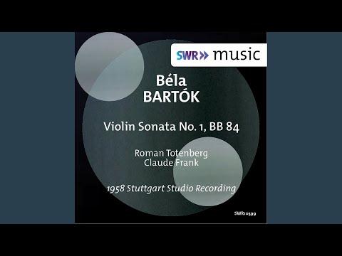 Violin Sonata No. 1, Sz. 75: I. Allegro appassionato