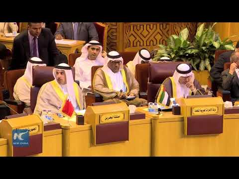 Debate at Arab League meeting over Qatar's alleged link with