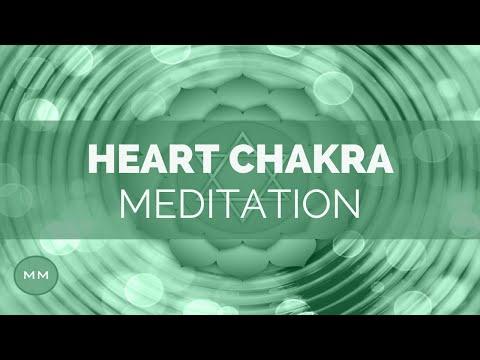 Heart Chakra Meditation - Powerful Heart Chakra Healing Music - Open Your Heart Chakra