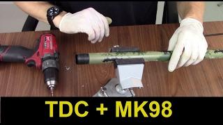 Furei o cano da Mk98!! + Teste de tiro com TDC!!  - Dia de Oficina