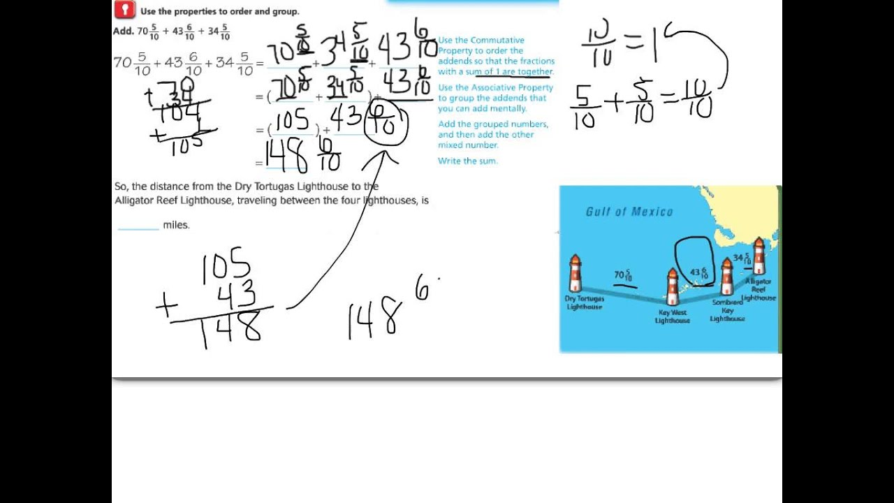 79 Fractions And Properties Of Addition