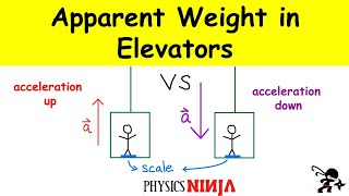 Calculating the Apparent Weİght in an Elevator