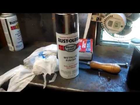 Chrome paint does chrome paint really work funnycat tv for How does spray paint work