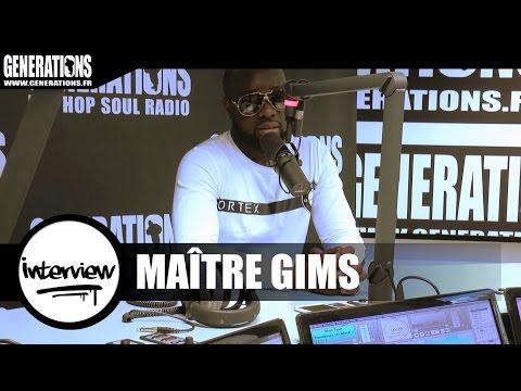 Maître Gims - Interview #MCAR (Live des studios de Generations)