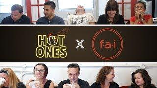 Graphic Design Team Succumbs to Spicy Wings | Hot Ones Challenge