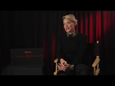 Actress Kristin Lehman on Netflix's 'Altered Carbon'