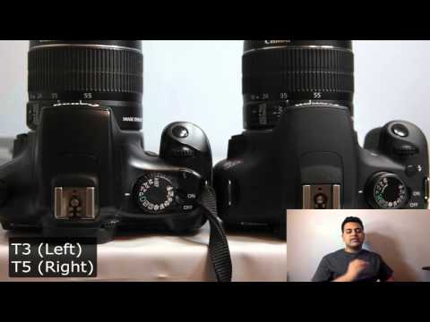 Canon T3 (1100D) vs Canon T5 (1200D): Battle of the Entry Level DSLRs