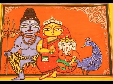 Pattachitra painting tutorial — 1